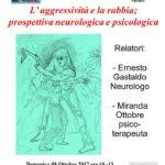 """08.10.17, Paderno di Ponzano Veneto: """"L'aggressività e la rabbia; prospettiva neurologica e psicologica"""""""