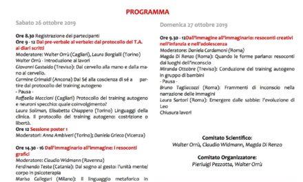 SEMINARIO NAZIONALE ICSAT 2019 La narrazione scritta, grafica e plastica dei vissuti delle tecniche della psicoterapia