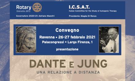 """Convegno Icsat: """"Dante e Jung, una relazione a distanza"""""""